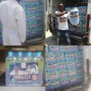 BBNaija: Fans Campaign For Miracle With Bottled Water (Photo)